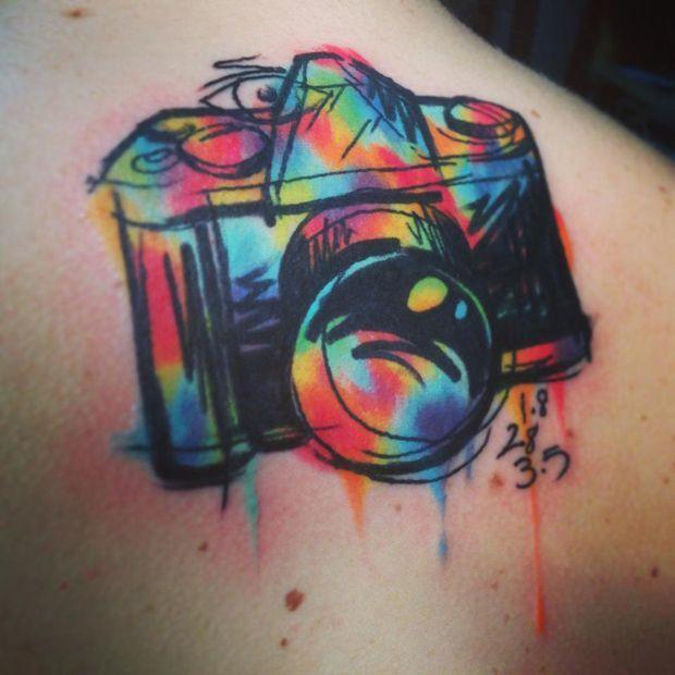 65 incríveis exemplos e inspirações de tatuagens no estilo aquarela | Ideia Quente