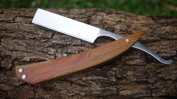 How to: Build a Classic Wood-Handled Straight Razor from Scratch