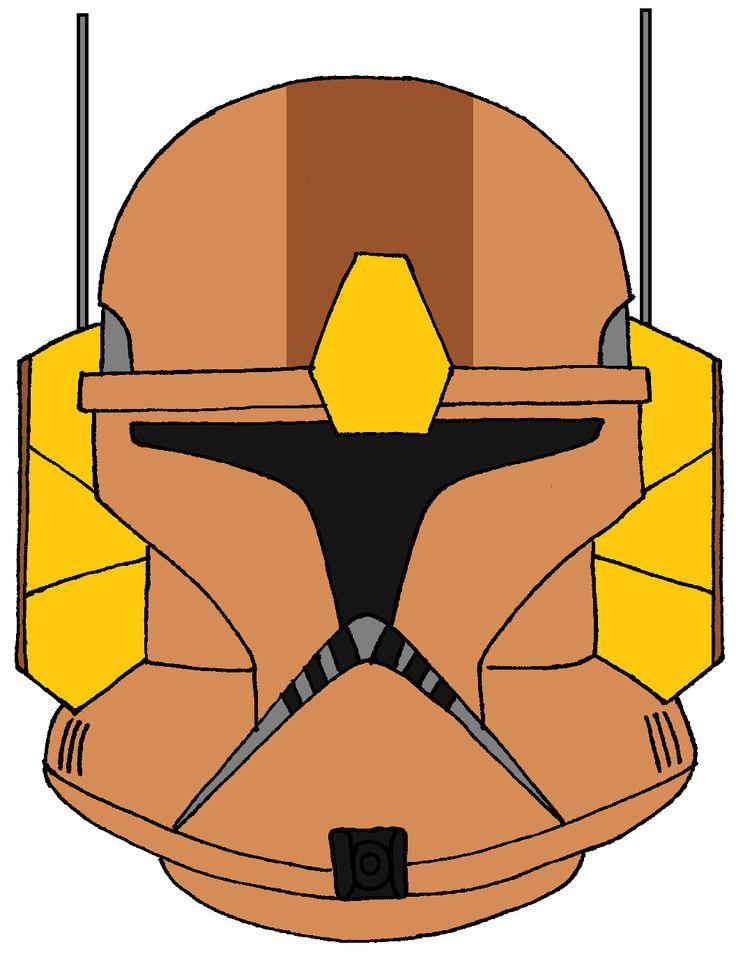 Clone Trooper Commander Jet's Helmet