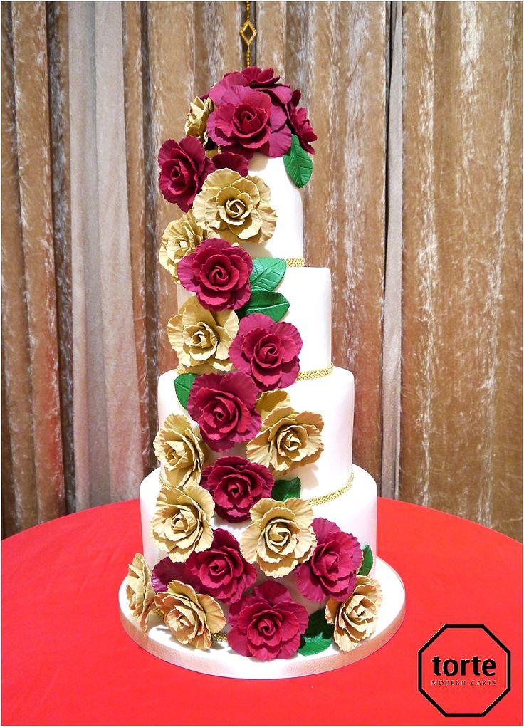 99 best WEDDING CAKES images on Pinterest