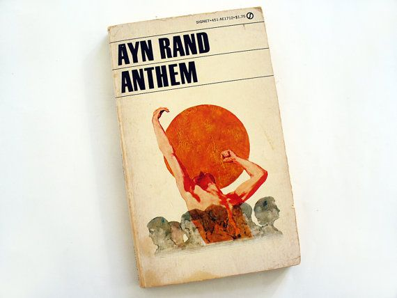 Anthem Ayn Rand by RetroDelia on Etsy