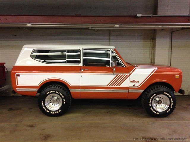 1978 orange international scout ii orange 1978 international scout classic car in chicago il. Black Bedroom Furniture Sets. Home Design Ideas