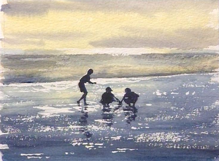 Paint vibrant watercolors by simply using the mediums vibrancy and not overworking the painting. Learn more with this watercolor workshop. #watercolor #watercolorpainting