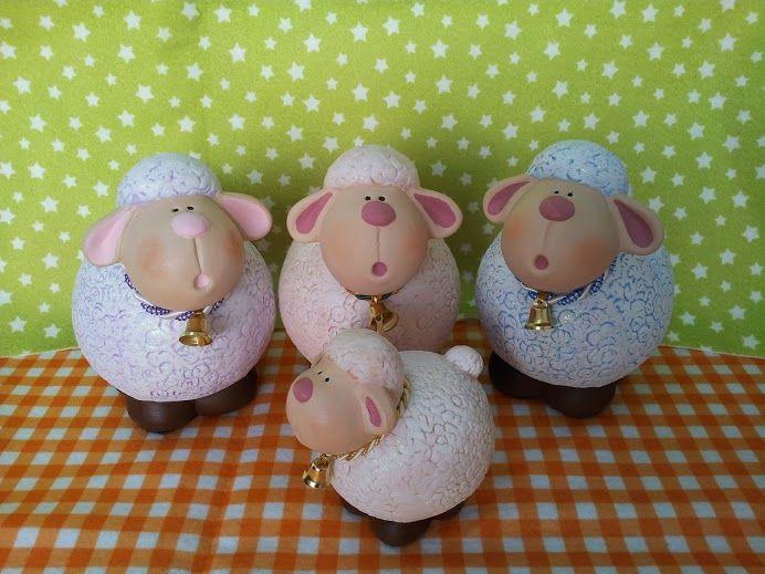 Alcancías de borregos, Sheep piggybanks www.estuchedemonerias.com.mx