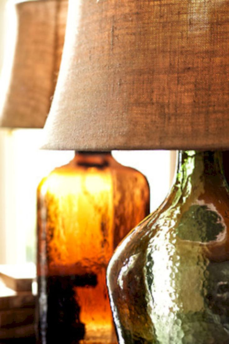 Nice 60 Stunning Rustic Table Lamps Design Ideas. More at https://trendecor.co/2017/09/30/60-stunning-rustic-table-lamps-design-ideas/