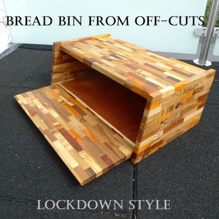 Bread Bin Lockdown Style in 2020 Bread bin, Wood