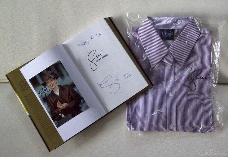 GAI WATERHOUSE SIGNED BOOK, SHIRT & PHOTO starting @ $100.00 #parismattRBWH #Charity