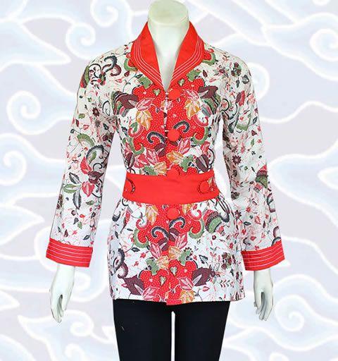 blouse atasan batik bm134 http://senandung.net/blus-batik-wanita-modern/