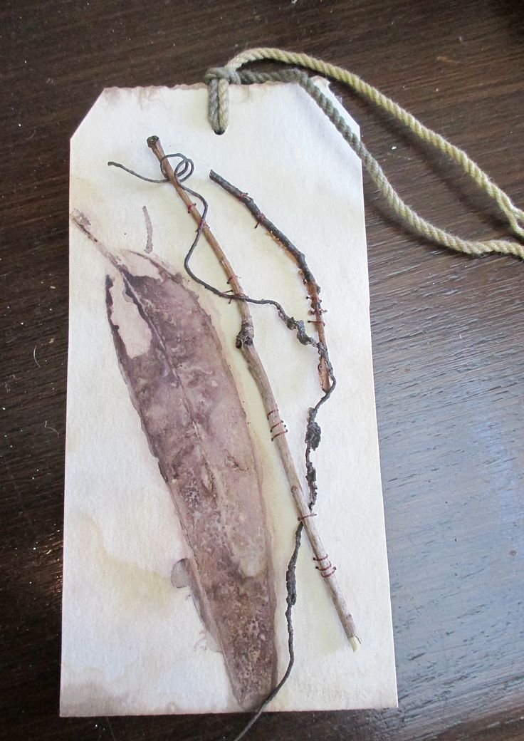 Twig - art tag : Eco print with found objects Wilma Simmons (Newcastle, Australia) https://www.facebook.com/Empress.Wu.Designs