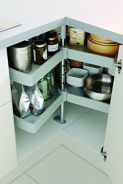 les 25 meilleures id es concernant placard d 39 angle de cuisine sur pinterest meuble de cuisine. Black Bedroom Furniture Sets. Home Design Ideas