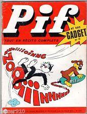 -°- PIF GADGET n°77 -°- VAILLANT n°1315 -°- 1971 LE GRELE / NASDINE HODJA