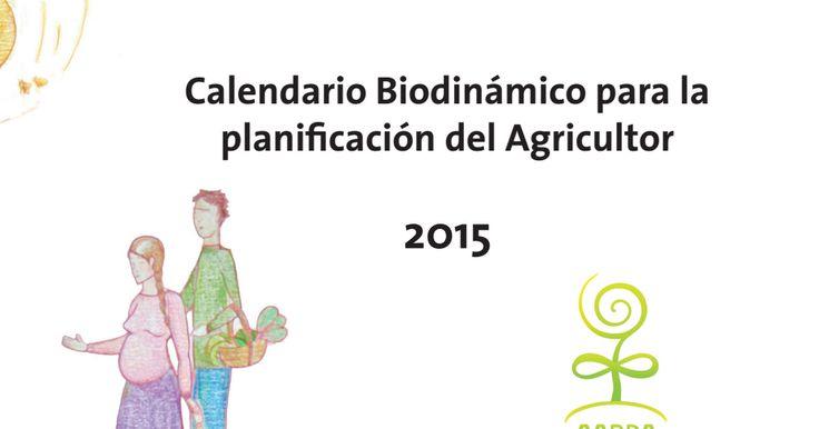 calendário biodinámica