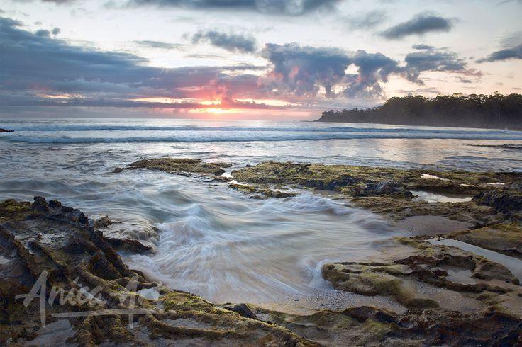Narrawallee Beach sunrise