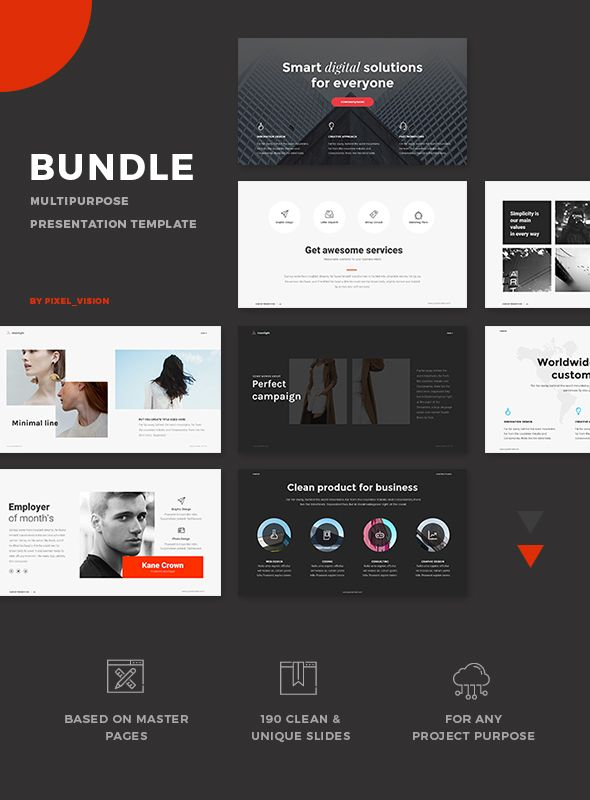 Bundle PowerPoint 3 in 1 #orange #powerpoint • Download ➝ https://graphicriver.net/item/bundle-powerpoint-3-in-1/21258203?ref=pxcr
