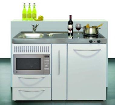 Minikitchen single kitchen small kitchen cabinet kitchen limatec junior kitchen