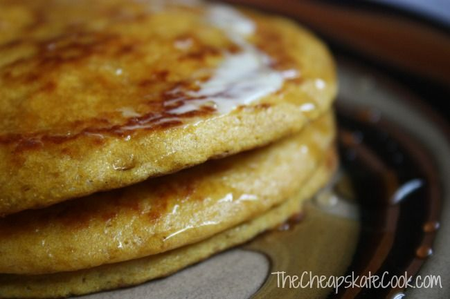 Sweet Potato Pancakes (Whole Wheat or Gluten-Free, Processed Sugar-Free) » The Cheapskate Cook