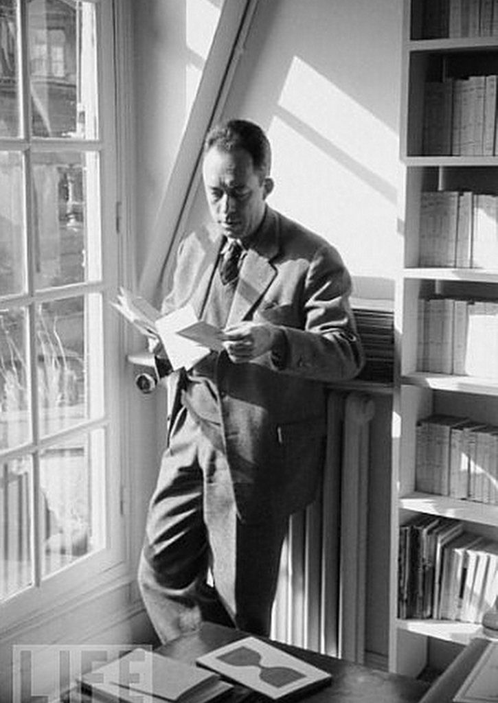 Albert Camus ~Repinned Via Olga