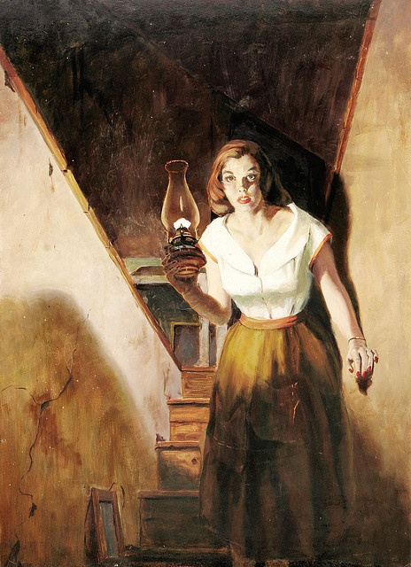 Nancy Drew. I loved, loved, loved, (and still love now) these books as a kid.