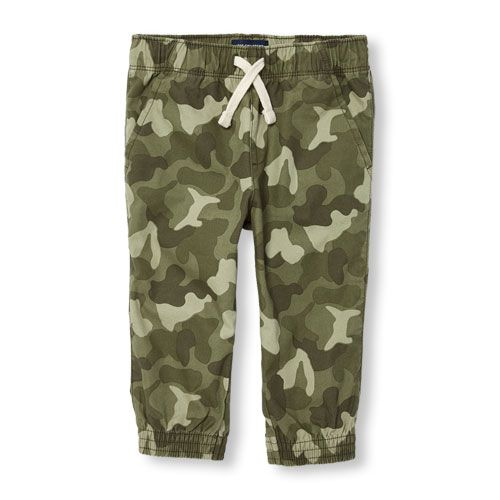 s Toddler Boys Jogger Pants - Green - The Children's Place