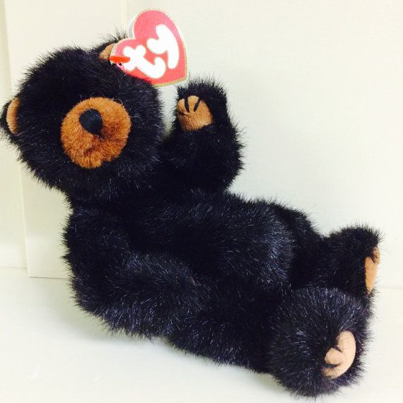 Ty Toy Attic Treasures Black Bear Ivan Ty Bear by ChristmasMemory