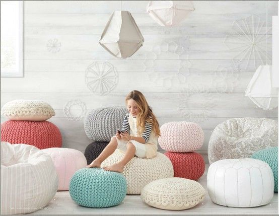 Living Room Poufs 97 Best Poufsimages On Pinterest  Living Room Beanbag Chair