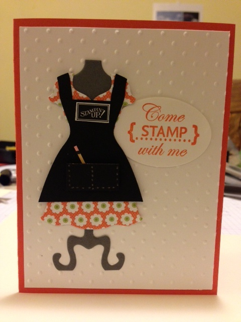 With stampin up s dress up framelits the possibilities are endless