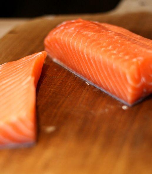 Juicy and healthy Sashimi