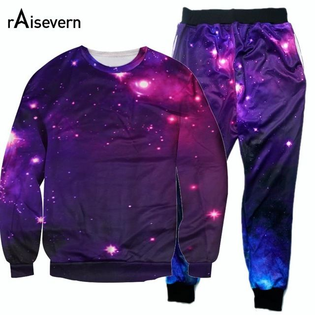 Fair price Raisevern New Men Women Galaxy Tracksuits 3D Galaxy Space Suits Long Sleeve Sweatshirt And Joggers Pants 2pieces Set just only $14.80 - 28.08 with free shipping worldwide  #hoodiessweatshirtsformen Plese click on picture to see our special price for you