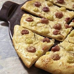 Grape-Rosemary Focaccia - EatingWell.com