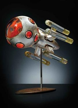 Rik Allen's Rockets Witty and whimsical, the artist's glass creations provoke more than a smile...