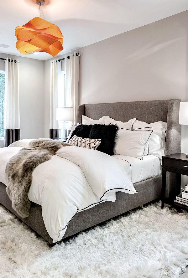 Best 25+ Grey bed ideas on Pinterest | Cozy bedroom decor ...