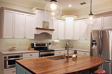 Granite Countertops Jacksonville : Underwood Butcher Block Co Jacksonville  Fl Linen White
