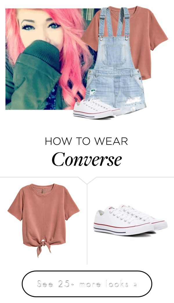 """""""*Walking Around* ~Liz"""" by only-love-me-when-im-wasted on Polyvore featuring H&M and Converse"""