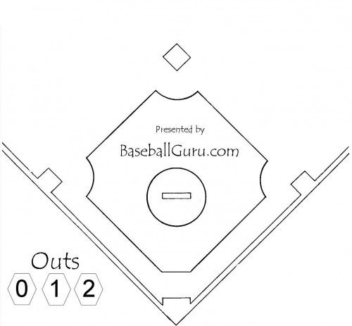 120 best places to visit images on pinterest coloring for Baseball field coloring page