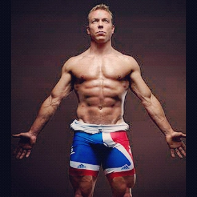 Sir Chris Hoy - topless!