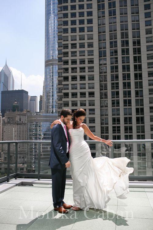 MONIKA CABAN wedding photographer: Chicago Hotel Palomar Wedding :: Ryan & Kristen