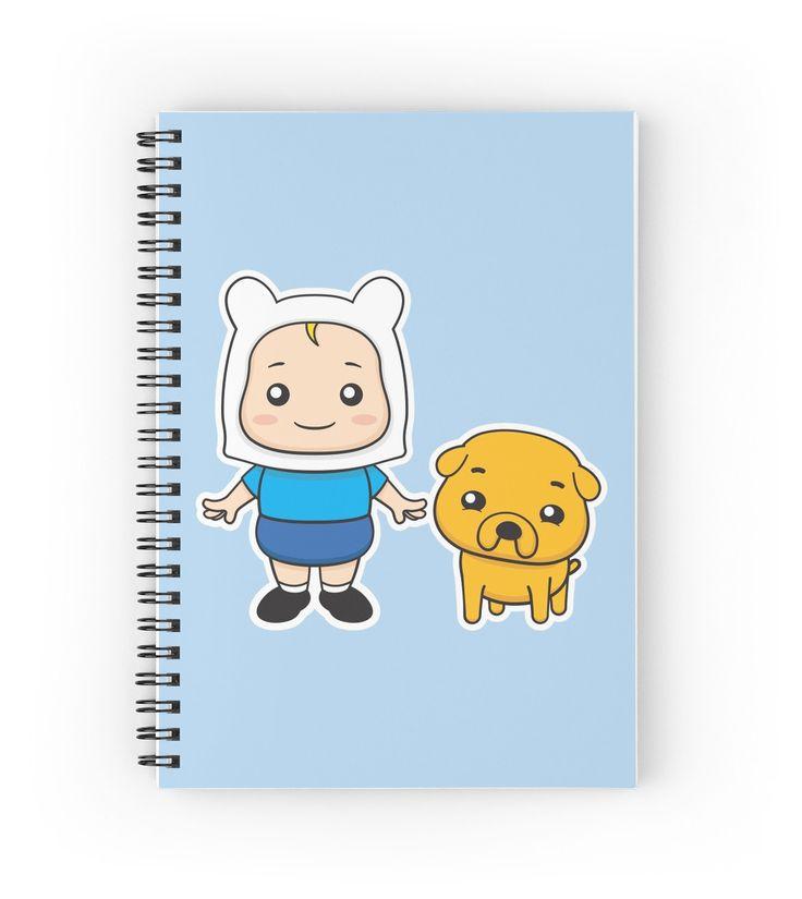 Adventure kids Finn and Jake by enriquev242 #finn #jake #finnthehuman #jakethedog #dog #pet #kid #boy #cute #cartoon #vector #adventuretime #puppy #vectorart #prints #redbubble #spiralnote
