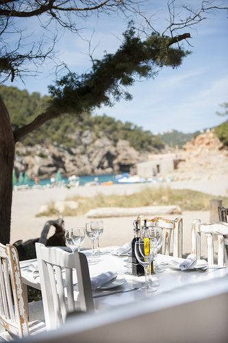 Elements Ibiza, Ibiza beach restaurant on Benirras - love this beach