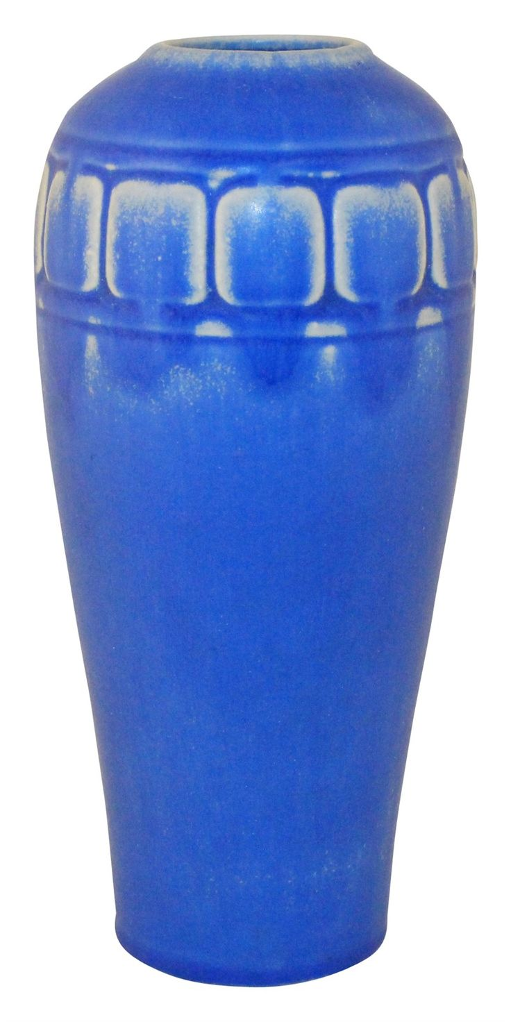 Rookwood Pottery 1922 Bright Blue Vase 2316