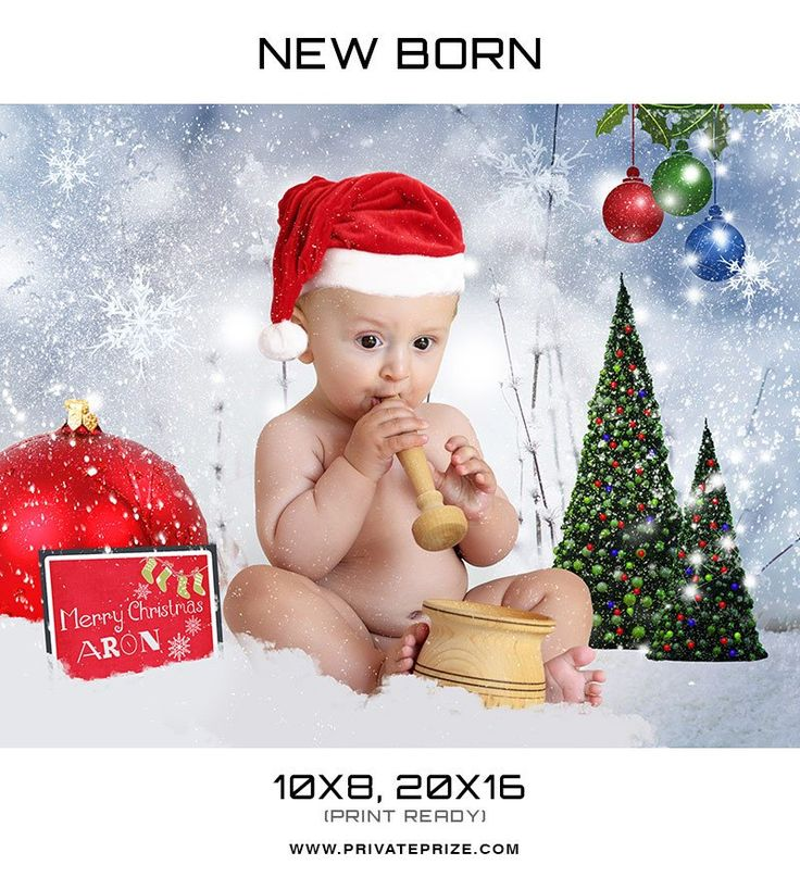8 best Christmas Photography Photoshop Templates images on Pinterest