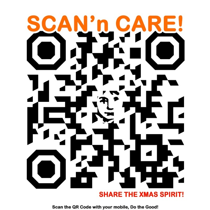 Show that you care, scan and care! Http://Facebook.com/scanncare