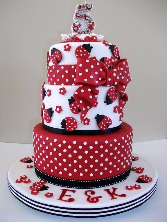 Ladybug Birthday Cake by Craftsy Member Paknz > I(Heart)Cake Decorating