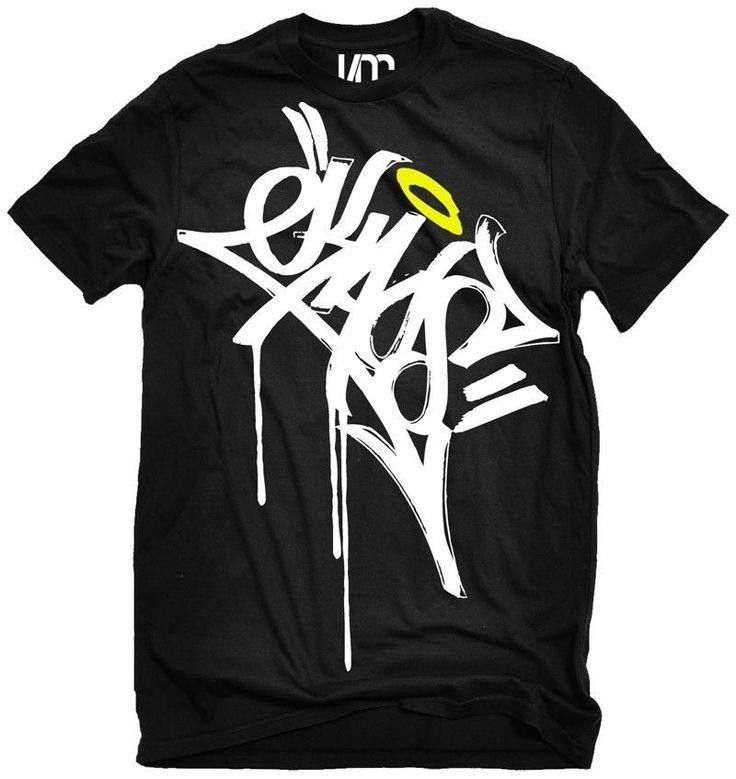 KAos Graffiti Shirt 5 colors tag Tattoo punk edm shirt rave shirt hip hop shirt in Clothes, Shoes & Accessories, Men's Clothing, T-Shirts   eBay!