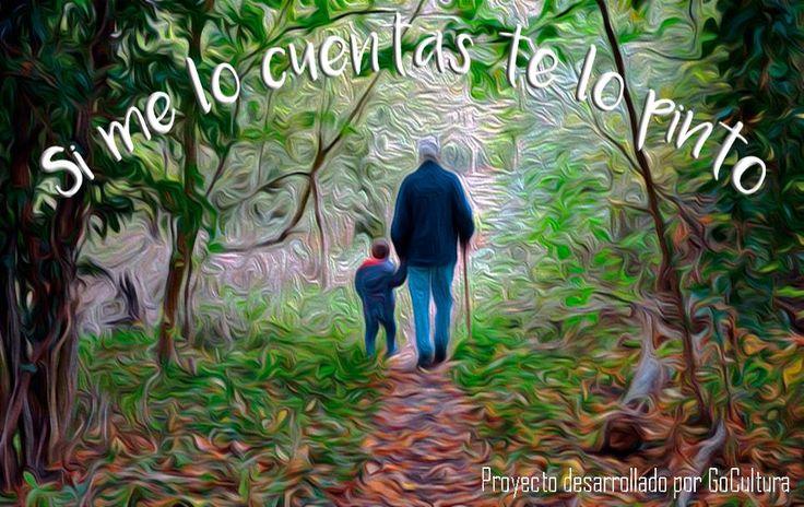 Si me lo cuentas, te lo pinto: ¡Abuelos, Nenes y GoCultura! ¡Caminando juntos!