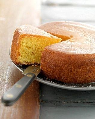 Torta de naranja esponjosa | Recetas de Cocina faciles.