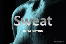 Sweat is fat crying.: Exerci Weightloss, Sweaty Fat, Healthy, Sweat I Fat, Fat Cry, Health Fit, Fit Motivation, Circuit Work, Best Quotes
