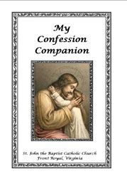 """My Confession Companion"" - a free printable booklet for children"