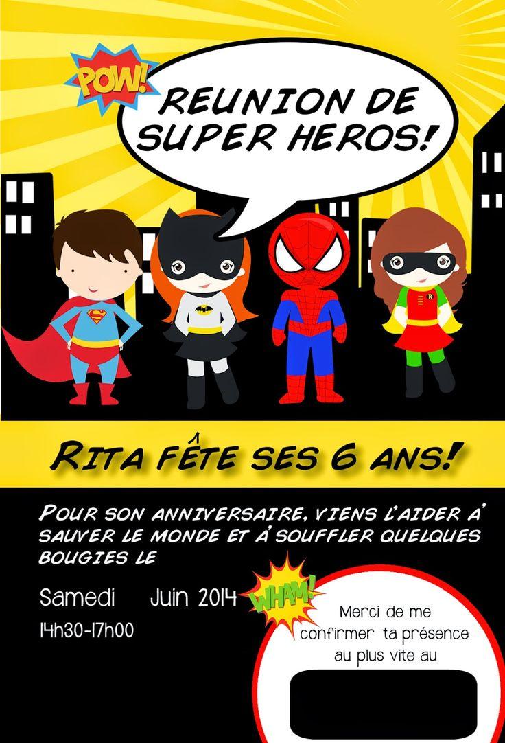 Célèbre 112 best super heros party images on Pinterest | Superhero  OL47