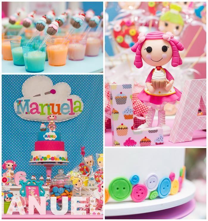 Realiza esta estupenda decoraci n y torta al estilo - Ideas cumpleanos nina 7 anos ...