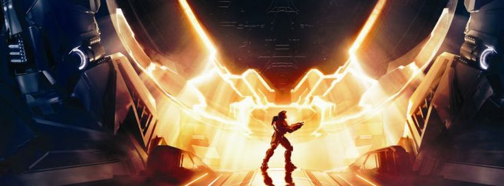 Halo 4 xbox 360 game facebook cover